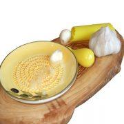 Garlic Grater Plate Set