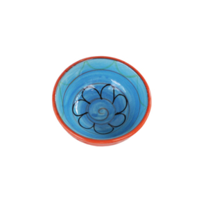 Ceramic Dipping Bowl - Blue