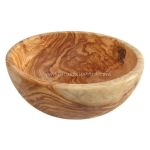 Olive Wood Salad Bowls Hand-Crafted