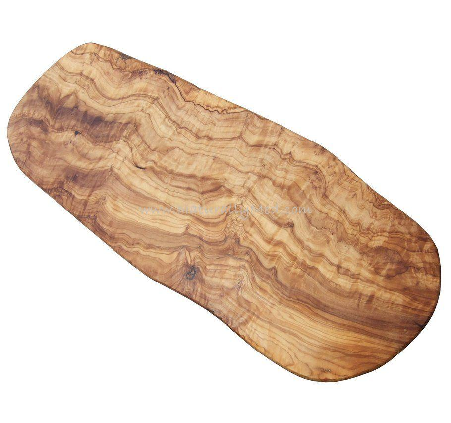 Olive wood cutting boards serving naturally med