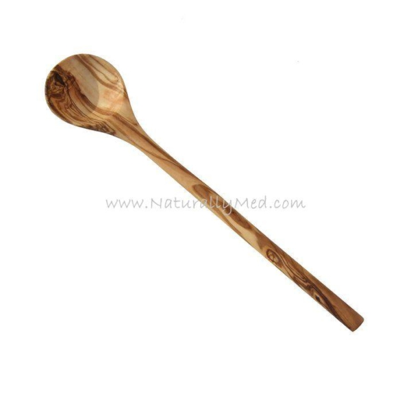 Olive Wood Wooden Spoons - 12""