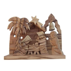 Olive Wood Nativity from The Holy Land