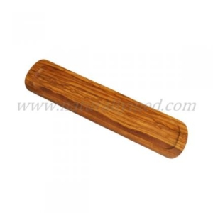 Naturally Med's Olive Wood Spoon Rest