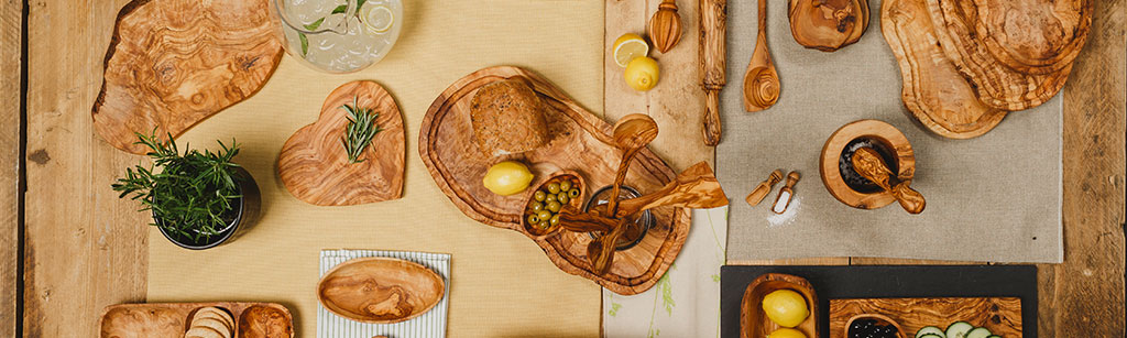 Olive Wood Products by Naturally Med
