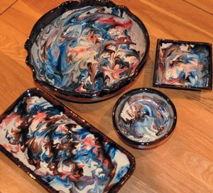 Marbled Ceramics