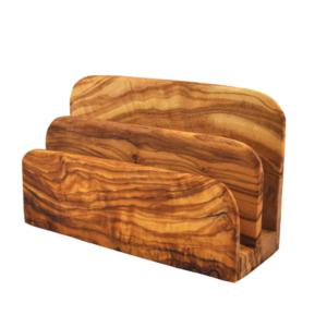 Olive Wood Letter Holder