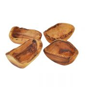 Gift Set of 4 Rustic Dipping Bowls