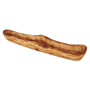 Rustic Olive Dish in Olive Wood