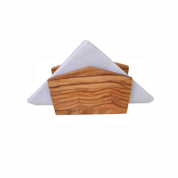 Olive Wood Napkin Holder