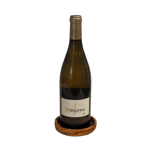 Olive Wood Wine Coaster