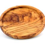 Olive Wood Wine Bottle Coaster
