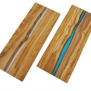 Olive Wood and Resin Boards