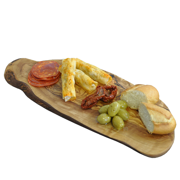 Olive Wood Natural Charcuterie Serving Board
