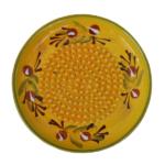Ceramic Garlic Grater - Yellow and Green