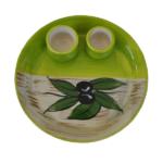 Ceramic Olive Dish - Green